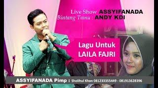 ANDY KDI - nyanyikan lagu untuk LAILA FAJRI MP3
