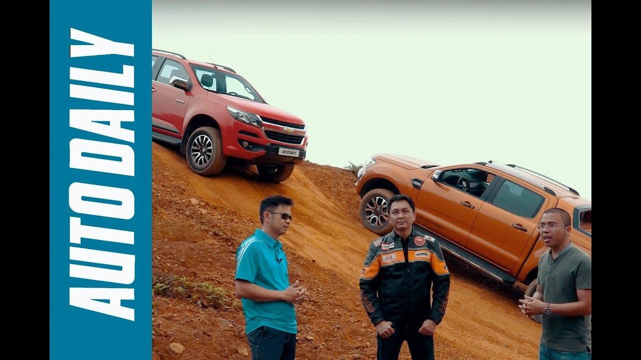 Ford Ranger Wildtrak 3.2 vs. Chevrolet Colorado High Country 2.8: Bạn chọn xe nào? |AUTODAILY.VN|