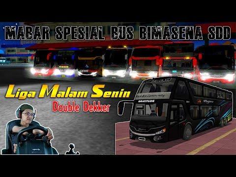 Liga Malam Senin Bersama Bus Muriaan Bejeu SDD || MABAR BUSSID