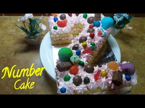 number-cake-كيكة-الأرقام-|-كيكة-الحروف-|-كيفية-عمل-طورطة-بالكريمة