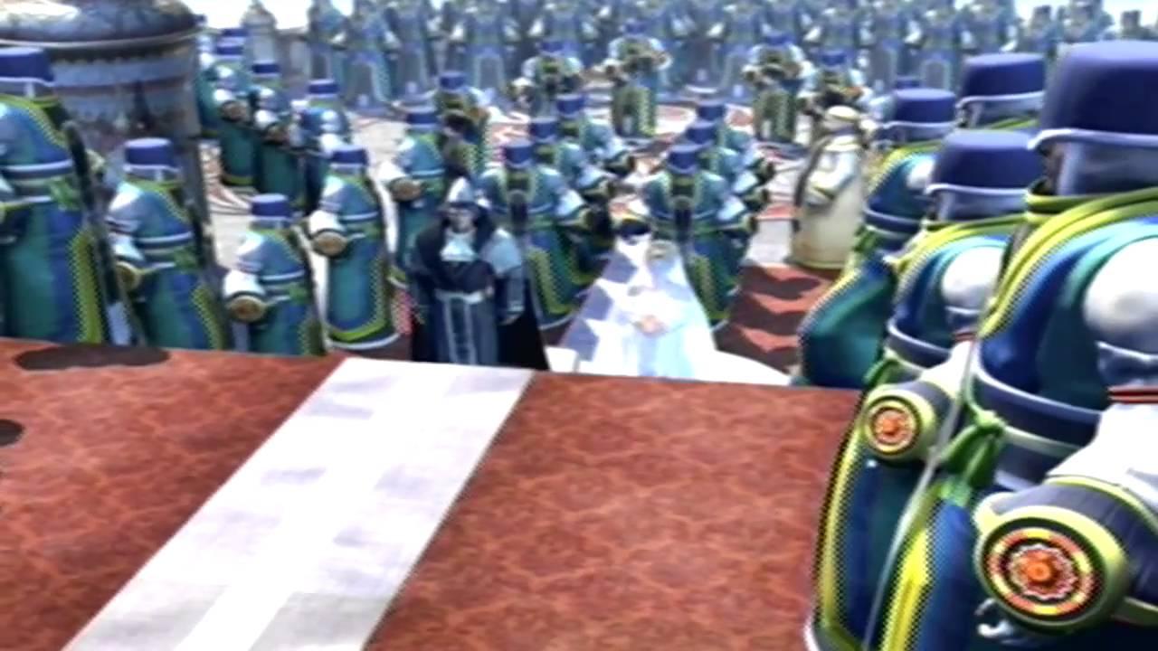 Final Fantasy X Cutscene