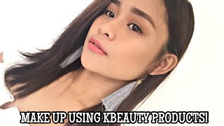 KBEAUTY PRODUCTS MAKE UP LOOK! ft. SMYLEE | Ella Manucdoc (Philippines)