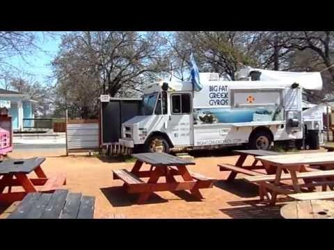 Rainey Street Austin Relocation Guide Food Trailers on Rainey Street Austin TX