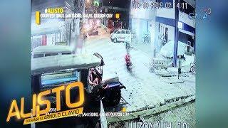 Alisto: Rider ng motorsiklo, tumilapon matapos sumemplang sa ginagawang kalsada!