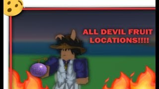 ALL BEST DEVIL FRUIT LOCATIONS IN ROBLOX ONE PIECE GAME!! | Mystical Fruits Online |