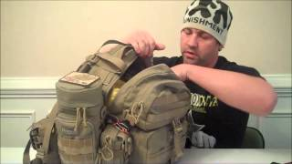 Mark Sanders Blackout 33 MAXPEDITION Condor  II Assault Pack Review