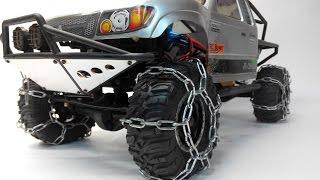 Как сделать цепи на радиоуправляемую модель машины(Делаем цепи на радиоуправляемую машину. Как сделать цепи на р/у машину. Р/у машины тут: http://goo.gl/HLvlKQ Группа..., 2014-10-28T12:32:58.000Z)