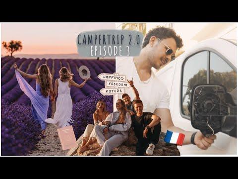 Camper Tour 2021 - Provence & Crash mit dem Wohnmobil!   Episode #3   Lisa-Marie Schiffner