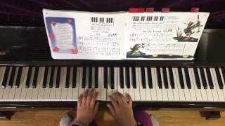 Teaching little fingers to play piano