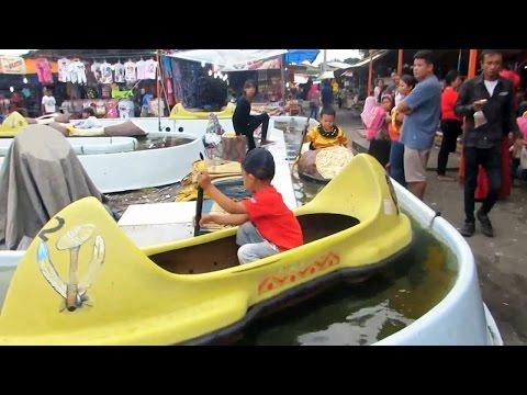 Perahu Mainan Anak Dayung Sampan - Rowing Boat toys for Kids (Mainan Anak-anak Kapal-kapalan)