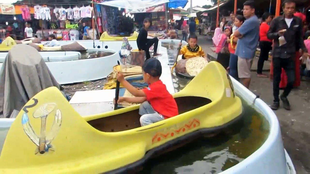 Perahu Mainan Anak Dayung Sampan Rowing Boat toys for Kids Mainan Anak anak Kapal kapalan