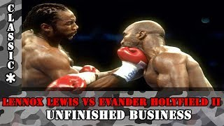 Lennox Lewis vs Evander Holyfield II rematch November 13, 1999 FULL FIGHT