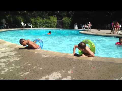 Swimming at Saratoga Springs