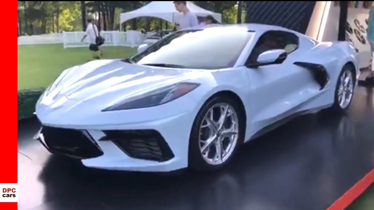 Arctic White New 2020 Corvette - YouTube