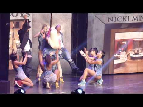 Nicki Minaj - THE BOYS  LIVE SYDNEY NOVEMBER 3OTH 2012 ROMAN RELOADED TOUR HD