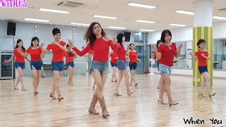 When You Smile (Absolute Beginner) line dance