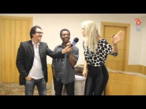 Paim entrevista o ator Alexandre Rodrigues e a atriz Cacá Santini FICC 2016