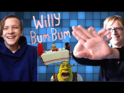 MY MOM REACTS TO WILLY BUM BUM, SHREK IS LOVE SHREK IS LIFE AND DONT HUG ME IM SCARED!!!