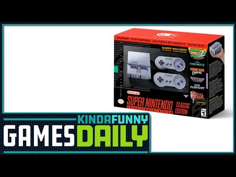 The SNES Mini Is Real - Kinda Funny Games Daily 06.26.17