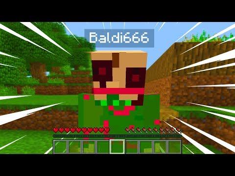 We FOUND Baldi 666 in Minecraft.. (wow)