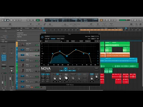 TDR Nova: Parallel Dynamic Equalizer | Free Plugin