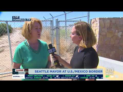 1-on-1 with Mayor Jenny Durkan at US/Mexico border