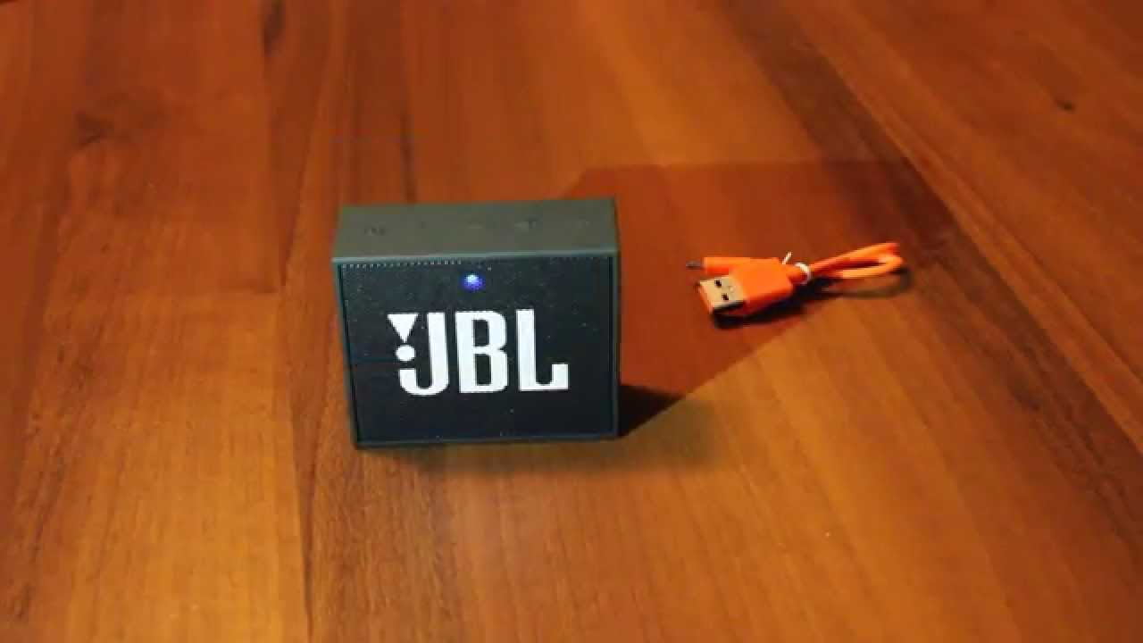 Enjoy music wherever you are with the travel friendly jbl go portable wireless speaker in black. This contemporary square speaker connects to device like.