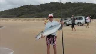 Fraser Island Fishing 2012