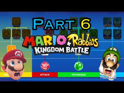 LIMITED SKILL TREE CHALLENGE Part 6 Mario+Rabbids