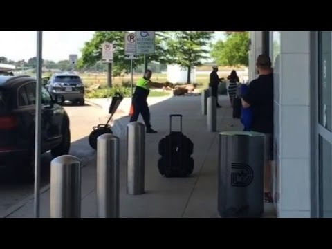 Video shows shooting at Dallas Love Field Airport