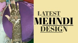 Latest Bridal Mehndi Design Completion | Body Care Beauty Zone |