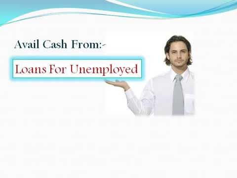 Jobless People Can Avail Instant Finances Through Unemployed Loans!