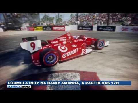 Band transmite a Fórmula Indy neste domingo