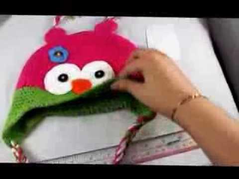 toddler-baby-owl-ear-flap-crochet-beanie-photography-photo-handmade-hat-ymm4w-green