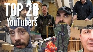 Top 20 YouTube Channels For Makers and Woodworkers