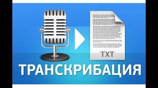 Расшифрую аудио, видео в текст. Сделаю за 500 рублей!
