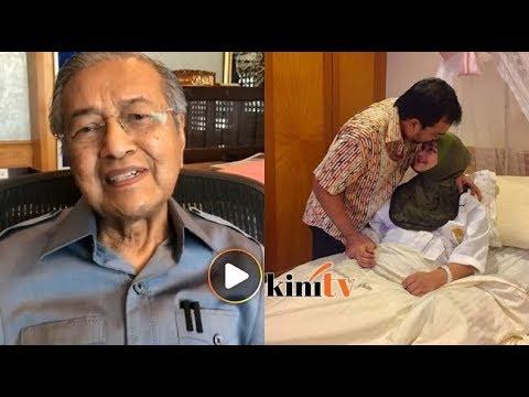 Dr M ucap tahniah pada Siti, suami