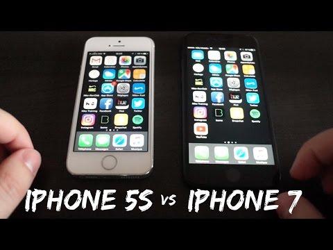 Jämför Iphone 5s Vs 7