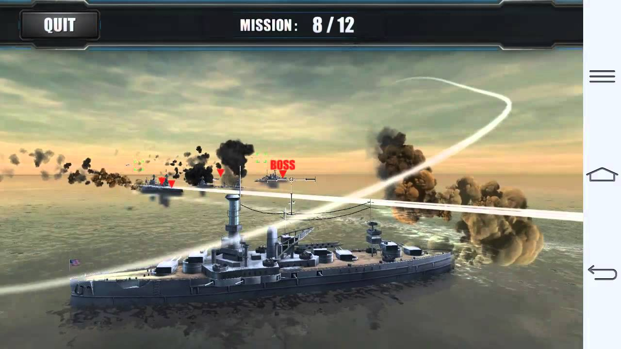 World warships combat - 루나가이드