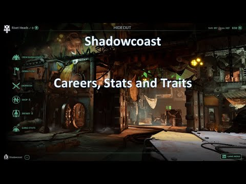 Careers, Stats and Traits in Necromunda Underhive Wars! |