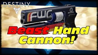 The Fakebringer Beast Year 2 Hand Cannon! Destiny The Vanity Year 2 Fatebringer Replacement!