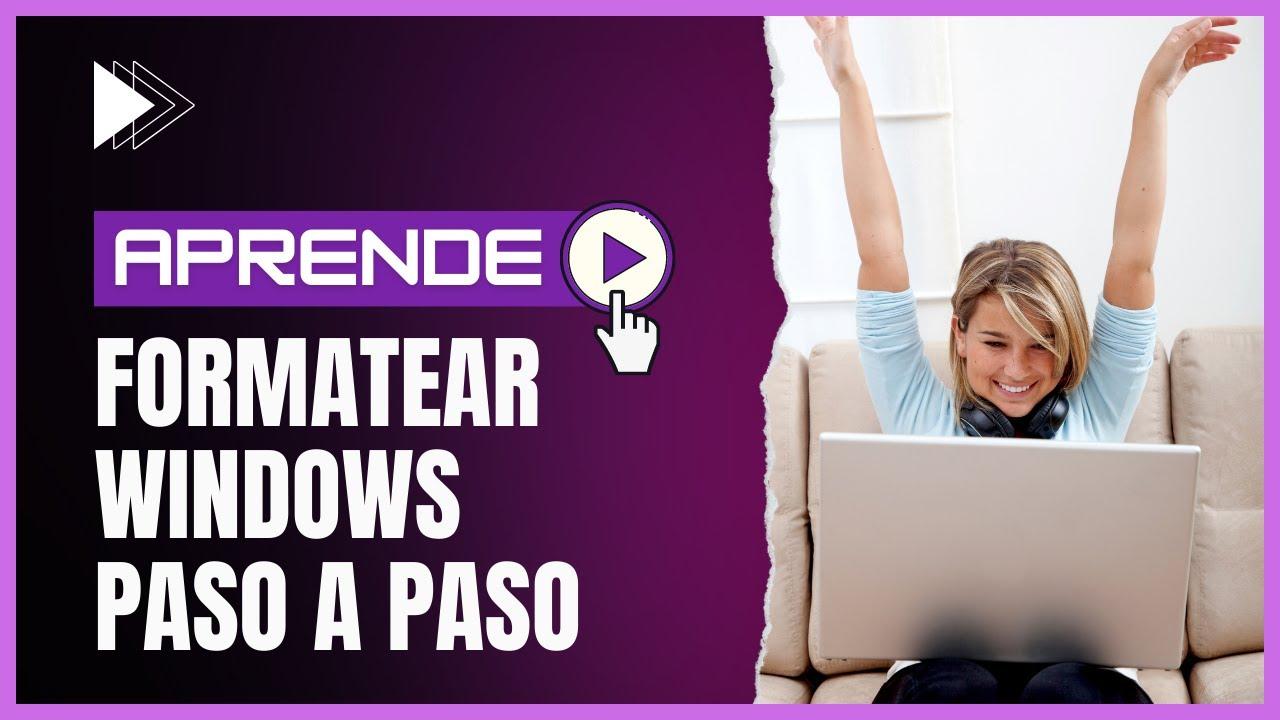 Como formatear un ordenador |➪ cursohacker. Es ☆.