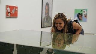 Soccer Legend Brandi Chastain Visits