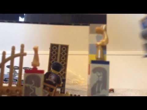 Lego Dessert Temple Adventure FAIL!!