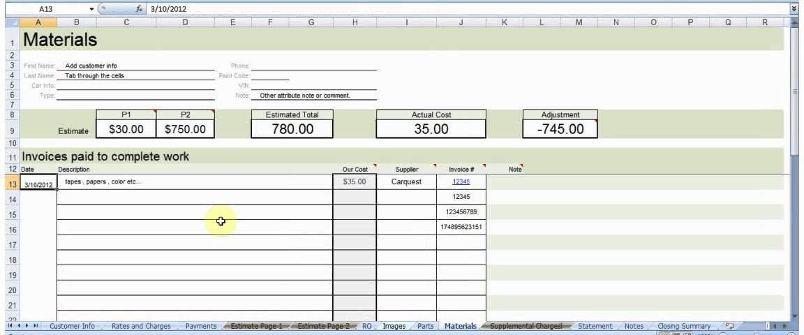 Body Shop Estimating Software Alternative Youtube