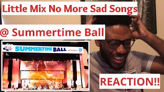 Little Mix No More Sad Songs (REACTION)