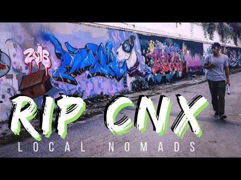 RIPCNX - A Street Artist's Story - Chiang Mai, Thailand