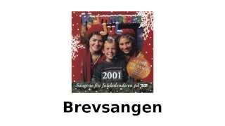 Krummernes jul - Brevsangen