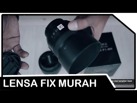 Unboxing Lensa YongNuo YN50MM 1,8N (Review, Sample Image & Raw Footage)
