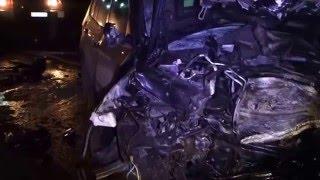 Водитель сгорел заживо  при ДТП на трассе Удмуртии 31/03/2016